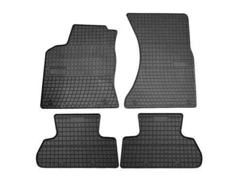 2008-2016 Automatten Fußmatten schwarz NEU Gummifussmatten Audi Q5 I Bj