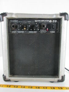 esteban guitar amplifier g 10 amp electric travel portable bass stage party t ebay. Black Bedroom Furniture Sets. Home Design Ideas