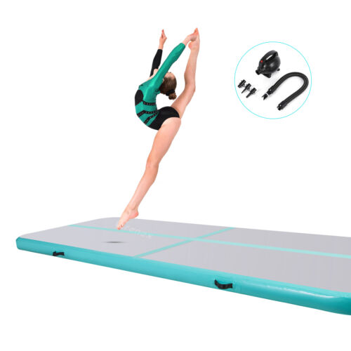 3m Air Track Turnen Aufblasbare Gymnastikmatte Tumbling Matte Trainingmatten