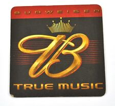 Budweiser True Music USA Beer Bier Bierdeckel Untersetzer Coaster sous-bock