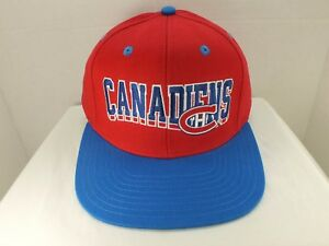 Montreal Canadiens Retro Vintage NHL Snapback CAP Hat NEW By Vintage ... 95b0b6d49ef8