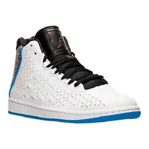 3fdc81fbc769b Details about Men's Jordan Illusion Off Court Shoes, 705141 105 Sizes 10-13  White/Black/Photo