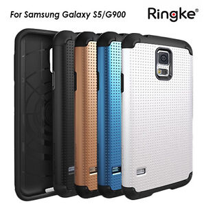 sale retailer 683c6 dd13c Details about Genuine Ringke Tough Armor Heavy duty Hybrid Cover Case For  Samsung Galaxy S5
