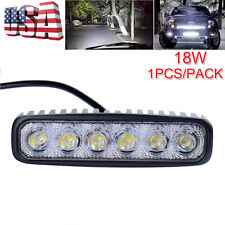 18W LED Flood Spot Work Light Car Truck Boat Driving Fog Offroad SUV 12V-24V