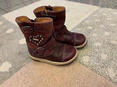 ✨ TOP GEOX Lauflernschuhe Schuhe Stiefel Gr. 20 Bordeaux Frühling ✨ | eBay