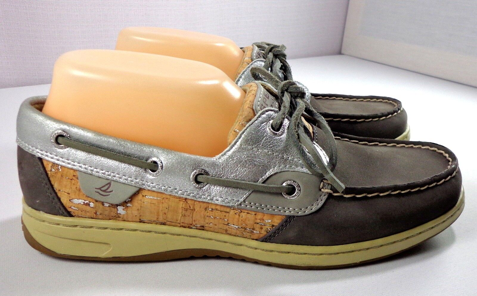 Sperry Top-Sider Boat shoes Womens blueefish Cork 2-Eye Size 9 M
