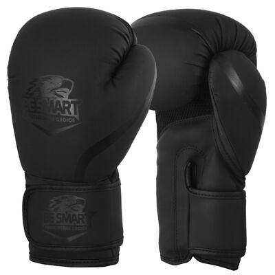 Leather Boxing Gloves Punching Bag Sparring Glove Kick Boxing Muay Thai MMA