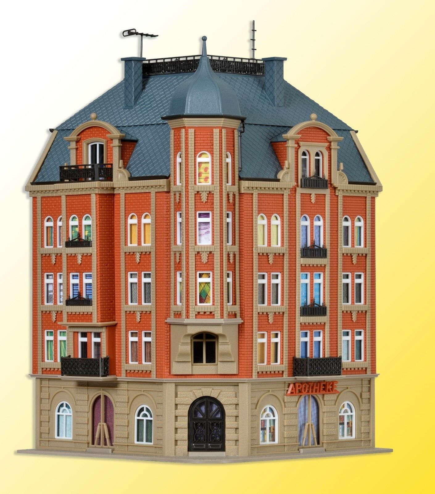 precio mas barato Vollmer 43811 ciudad-Eck-vivienda castillo todos 1, 3-stockig 3-stockig 3-stockig m. dachgesch nuevo  tienda de bajo costo