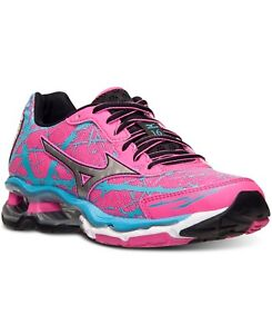 quality design ff853 d5098 Image is loading Mizuno-Wave-Creation-16-Running-Shoes-Pink-Blue-