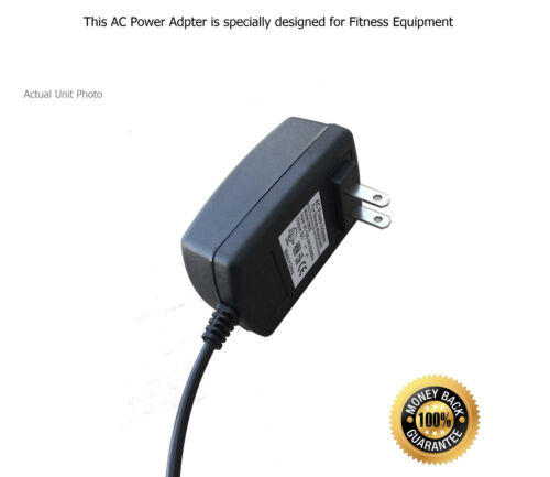 AC Power Supply Adapter for Fitness Quest New Balance 10K 7.0 Recumbent Bike