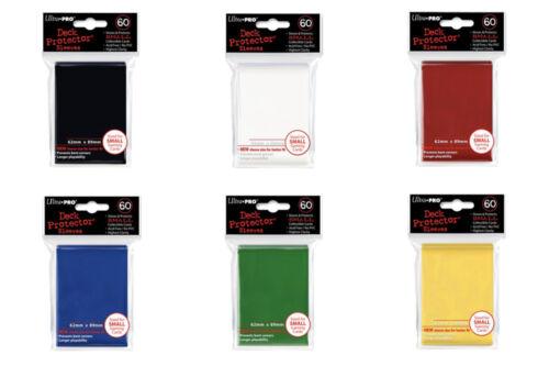 Ultra-pro 6x principal colores Deck Protektor sleeves fundas formato estándar 50