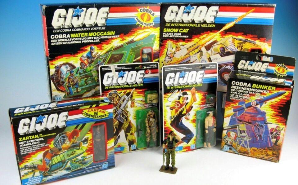 SØGER Action force/Gi Joe/Starwars/Heman/ leget...