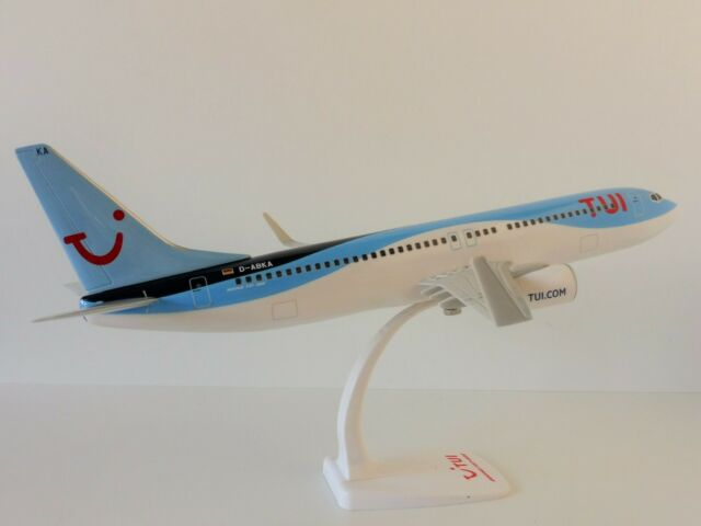 Boeing 737-800 TUI FLY 1/100 Herpa Snap Fit 612098 D-ABKA 737