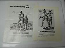 1973 THE TRAIN ROBBERS Press Book Kit JOHN WAYNE Ann Margeret FN+