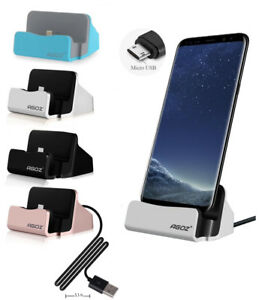 Details about FAST Charger Docking Station Micro USB Cell Phone Holder  Stand for ZTE Phone