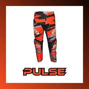PULSE-KIDS-MOTOCROSS-MX-BMX-MTB-MOUNTAIN-BIKE-PANTS-BLIZZARD-NEON-ORANGE