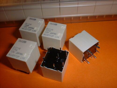 5x Relais ACJ2112P 12V NAIS Panasonic Automotive Relais