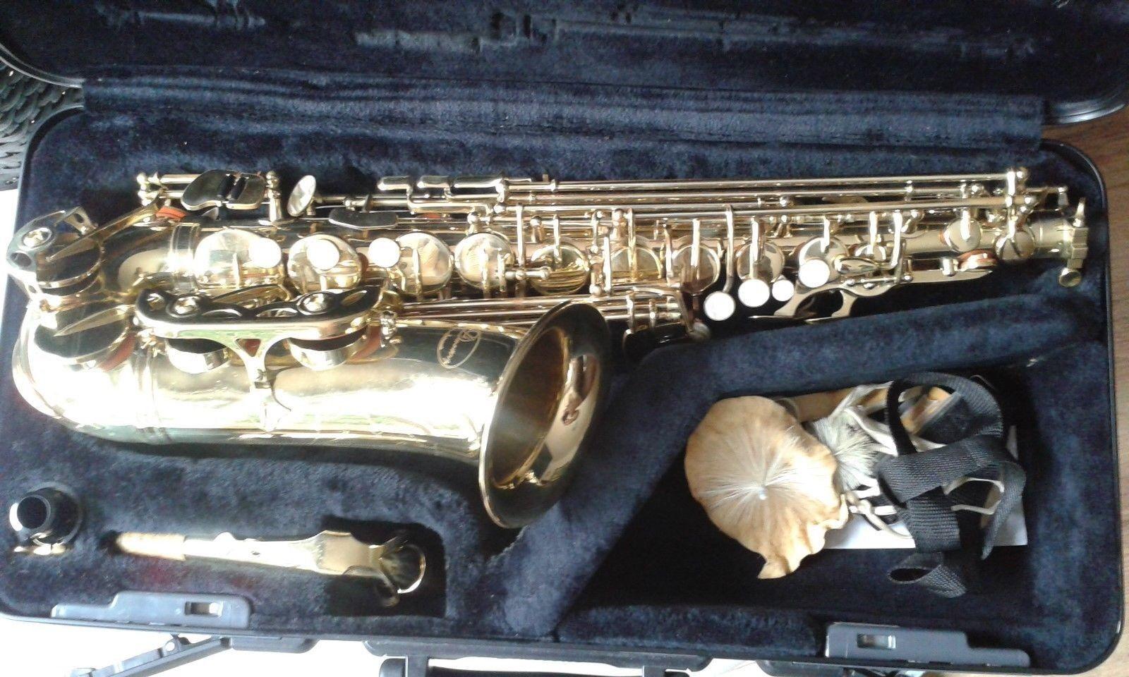 Alt Saxophon, Dimavery, von 2005  1.Hand, sehr gepflegt, Anfänger Instrument
