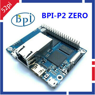 52Pi Banana Pi BPI-P2 Zero quad core single-board computer for IoT /& smart home