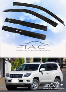 For Toyota Land Cruiser Prado J150 FJ150 Window Visor Weathershield Shield 08-18