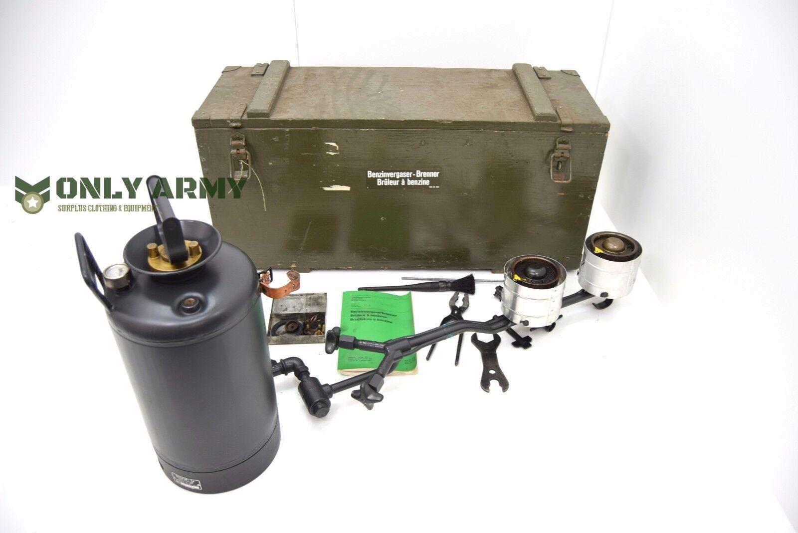 Gasherd in der Schweißer Armee Gasbrenner Gasbrenner Pressbrennstoff mit Box
