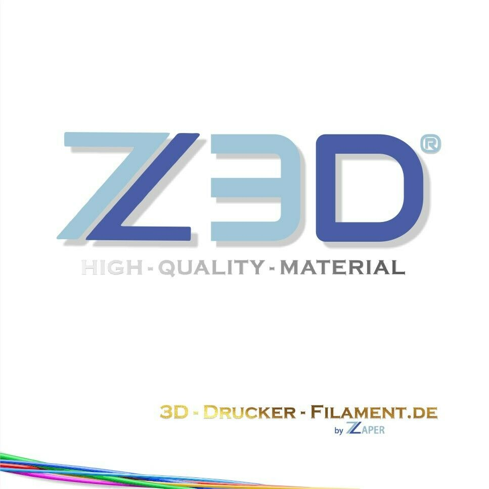 Z3D PVA Water Soluble 1,75mm 50g 3D Filament Support Material Sample Test Sample