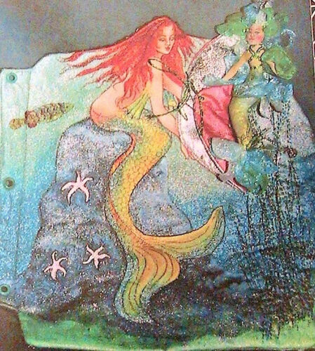 STARGAZE STITCHERY TOME #4~PAINTING /& STAMPING~Patti Culea 2003 *RARE pattern