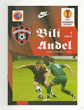 Orig.PRG    Europa League   2009/10    FC SPARTAK TRNAVA - INTER BAKU  !!  TOP