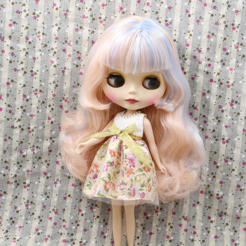 "12/"" Neo  Blythe Doll Mix Hair Matte Face Nude Doll from Factory JSW93003"