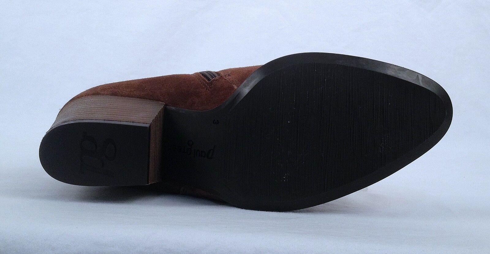 Nuevo      Paul verde arco Borla botín-marrón-Talla 5.5 EE. UU. 3 au  480 (B9) afb1b4