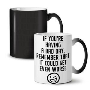 Optimistic Saying Funny NEW Colour Changing Tea Coffee Mug 11 oz | Wellcoda