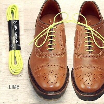 LIME Waxed Cotton Laces (any qty \u003d one