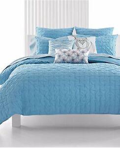 40-Bar-III-Box-Pleat-Sea-Spray-Cotton-Blue-European-Pillow-Sham
