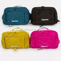 Supreme Waist Bag Ss17 Box Tee Logo Duffle Backpack Shoulder Small Cap