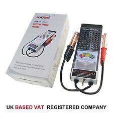 6V &12V 100Amp Car Van Auto Battery Load Drop And Charging System Tester 452107