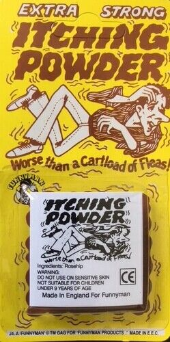 Extra Strong Itching Powder Classic Joke Funny Party Trick Funnyman J//04 Prank