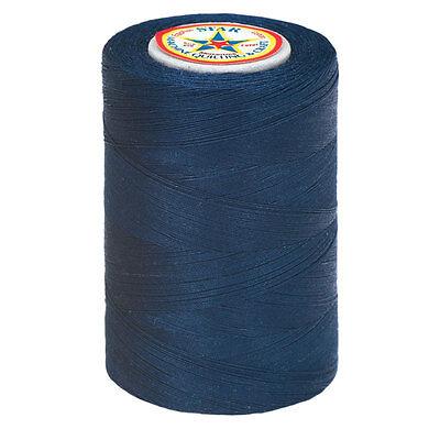 #13~STAR COTTON MACHINE QUILTING & SEWING & CRAFT THREAD~NAVY BLUE~V37