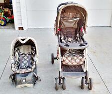 Baby Trend Venture LX Travel System Stroller - Monkey Around | eBay