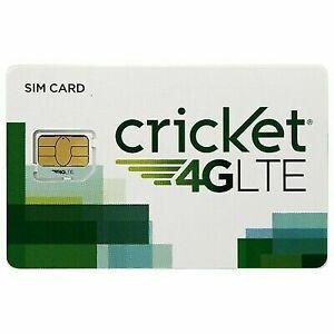 Cricket Micro SIM Card for Old Network Cdma- Read Description