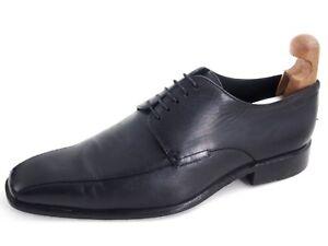 Hugo Boss Derby Oxfords Black Leather