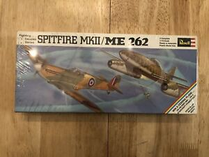 Revell-Spitfire-MK-II-ME-262-2-Kits-Fighting-Duces-Series-Model-Airplane-Sealed