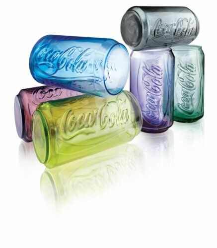 2011 Coca Cola Can Shape Limited Edition McDonalds Glass 330ml