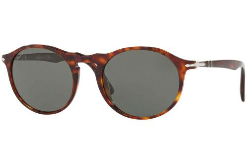 Green Polarized *NEW* 51mm 24//58 Sunglasses Havana Authentic Persol PO3204SM