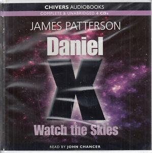 James-Patterson-Daniel-X-Watch-The-Skies-4CD-Audio-Book-Unabridged-Fantasy