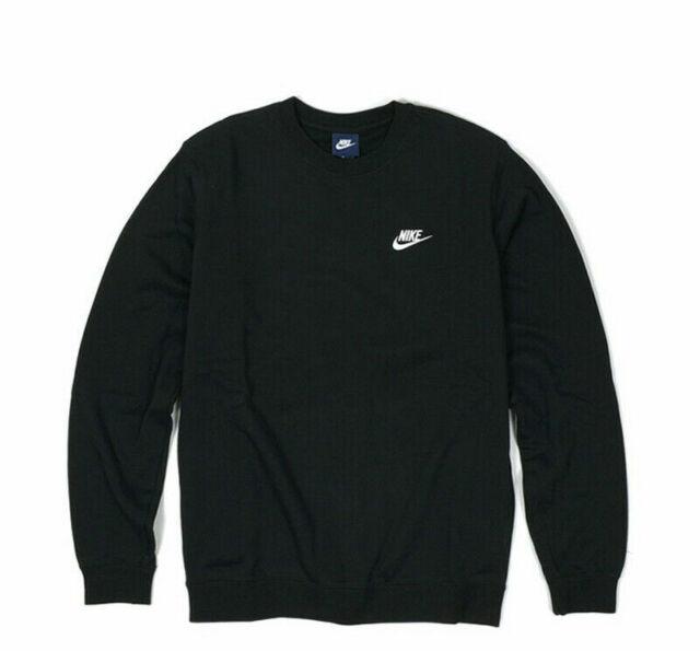 Nike men's French Terry Club Crew Sweatshirt Comfort Outdoor Activewear