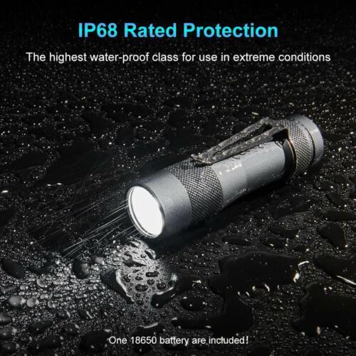 3 DEL CREE Professionnel Lampe de poche Lumintop FW3A /& Intelligent Chargeur 2800Lum