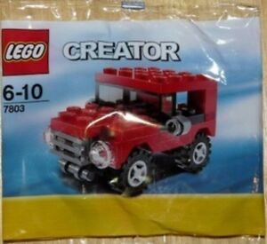 LEGO-Creator-7803-Jeep-set-Poly-Sac-Anniversaire-Sac-De-Remplissage