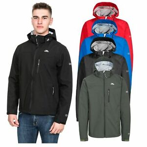 Trespass-Stanford-Mens-Waterproof-Soft-Shell-Jacket-in-Black-Blue-Red-Olive