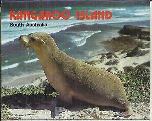 FOLD OUT VIEWS OF KANGAROO ISLAND SOUTH AUSTRALIA POSTCARD