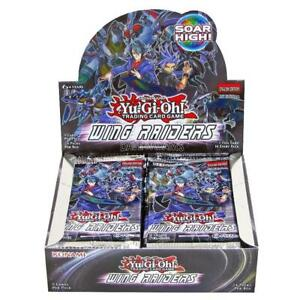 YUGIOH WING RAIDERS 1ST EDITION BOOSTER BOX BLOWOUT CARDS TRADING GAME